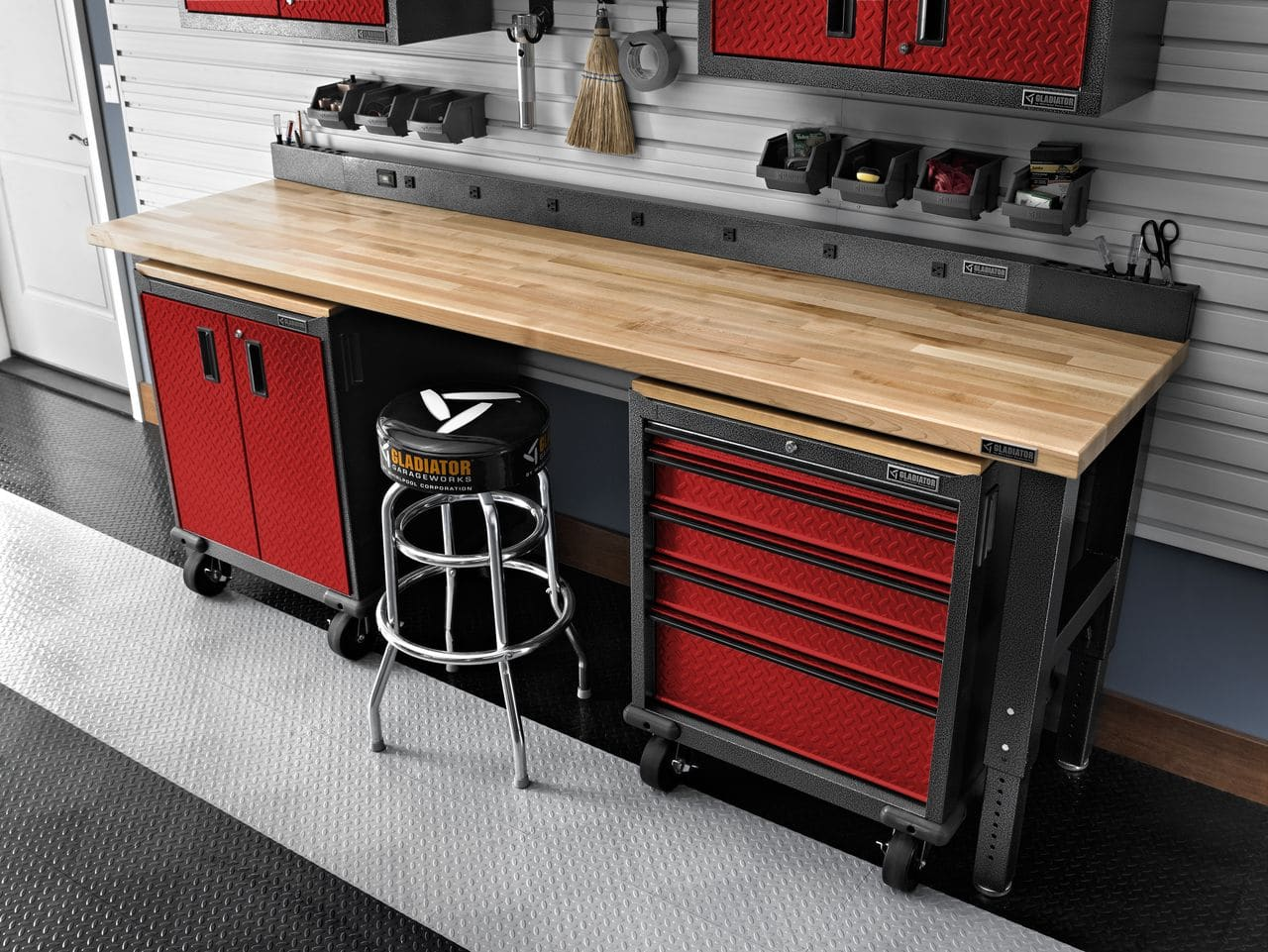 Online Garage Design Eye Catching Garage Amp Laundry Room Organization Made