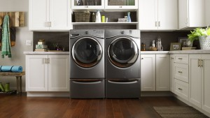 Whirlpool hybrid ventless dryer