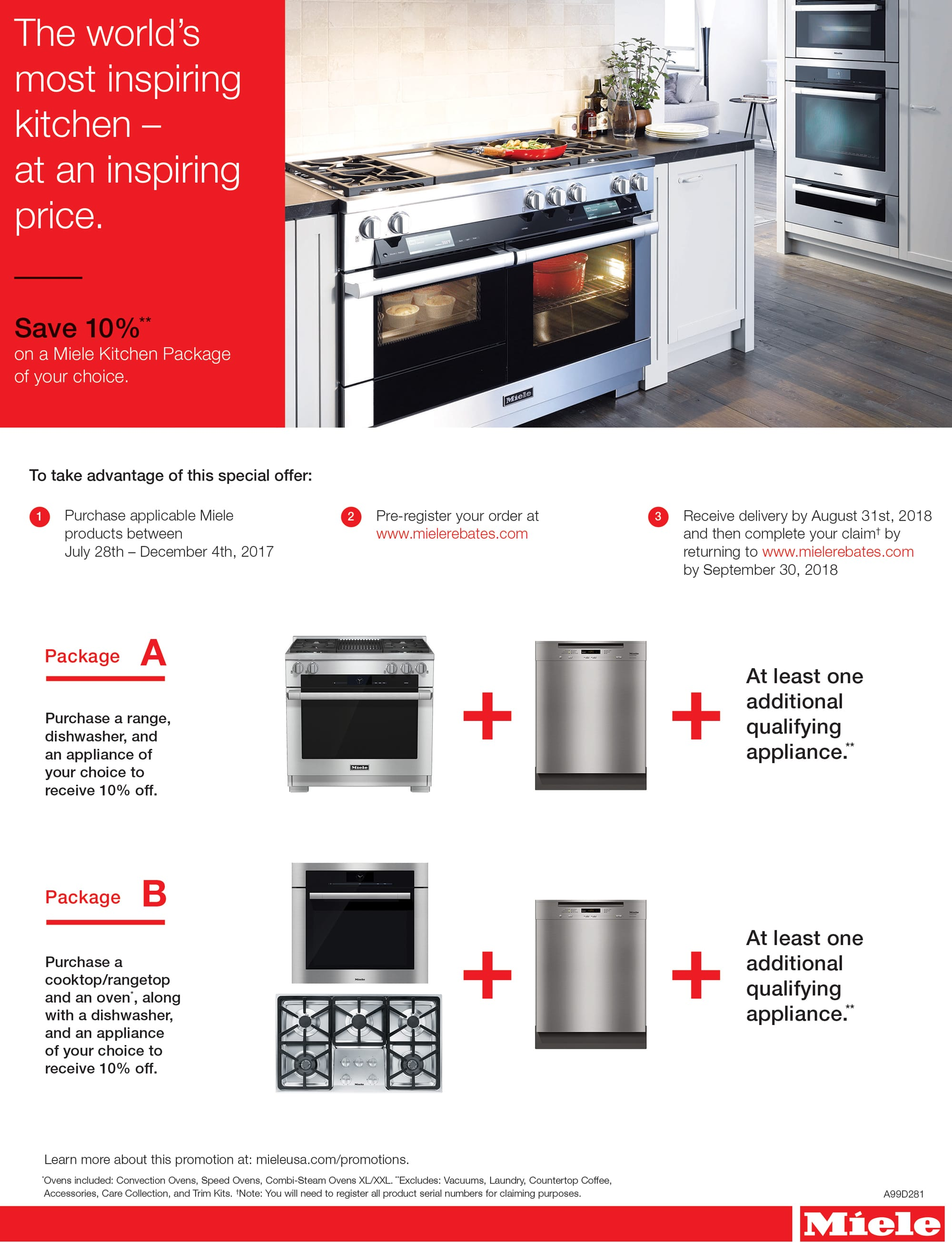 current miele promotions see store for details