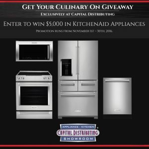 kitchenaid appliance promotion