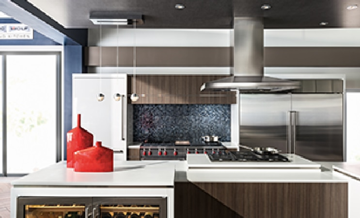 Capital Distributing has a large selection of Sub-zero, Wolf, and Cove Kitchen Appliances
