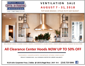 Ventilation Clearance Sale Aug