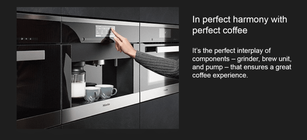 Experience Miele's Perfect Coffee and Premium Kitchen Appliances at Capital Distributing Dallas TX