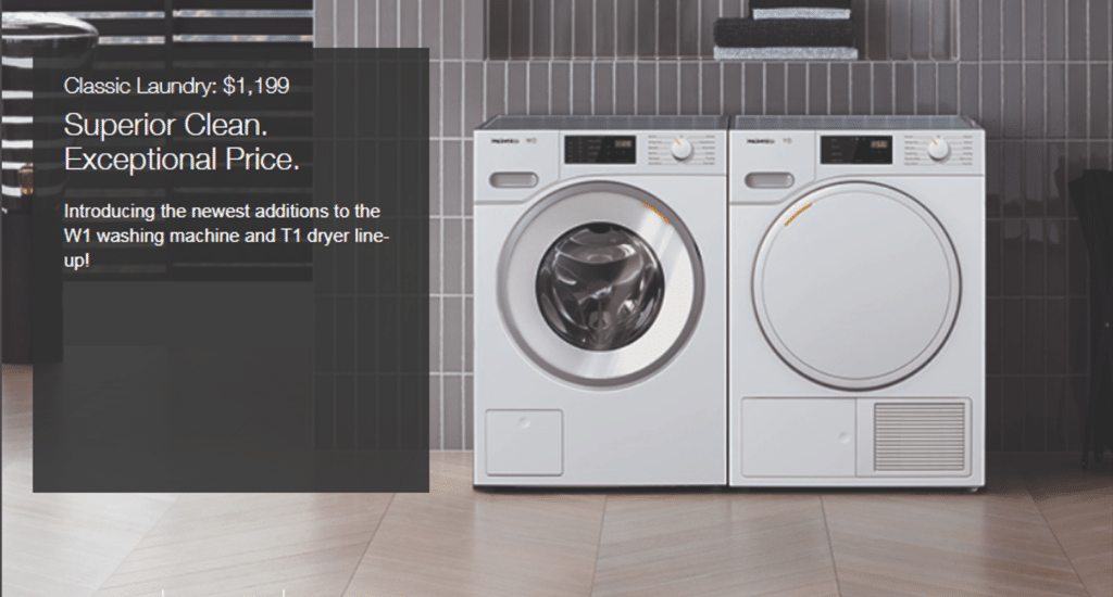 Introducing Miele Laundry Units and Premium Kitchen Appliances at Capital Distributing Dallas TX