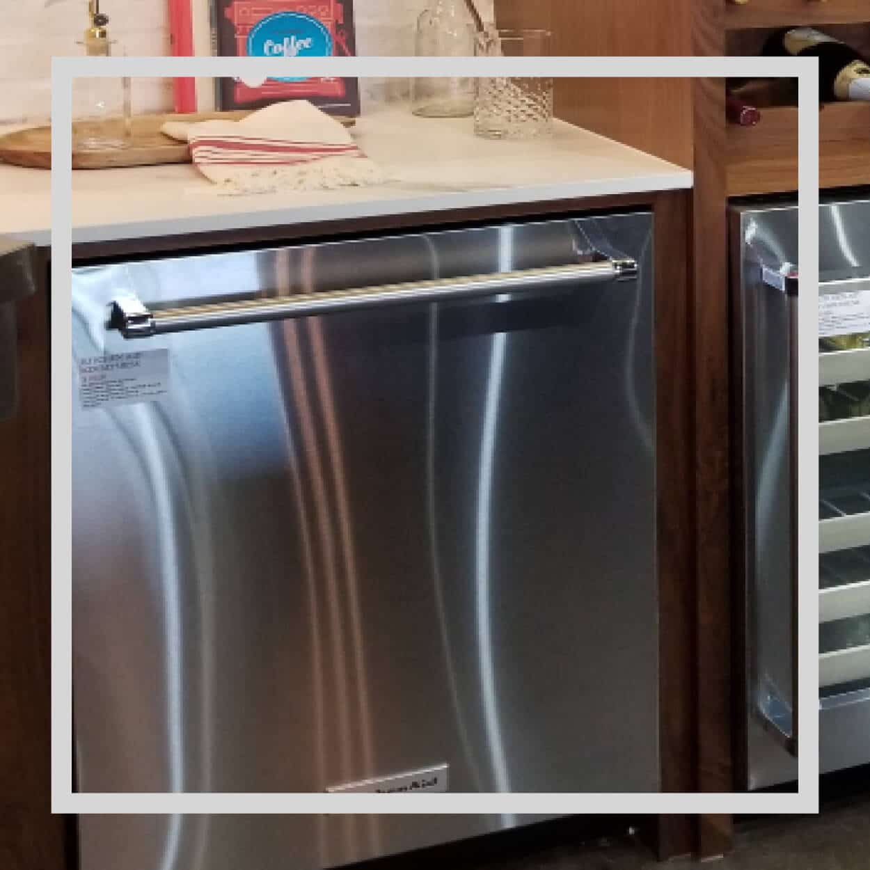 Find KitchenAid Dishwashers at Capital Distributing Showroom | I-35 & Inwood in Dallas