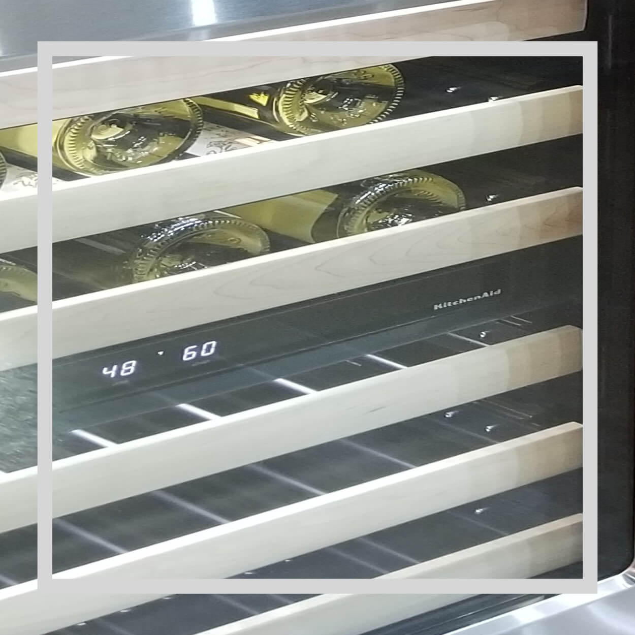 Shop KitchenAid Wine Storage at Capital Distributing Today | 214.638.2681