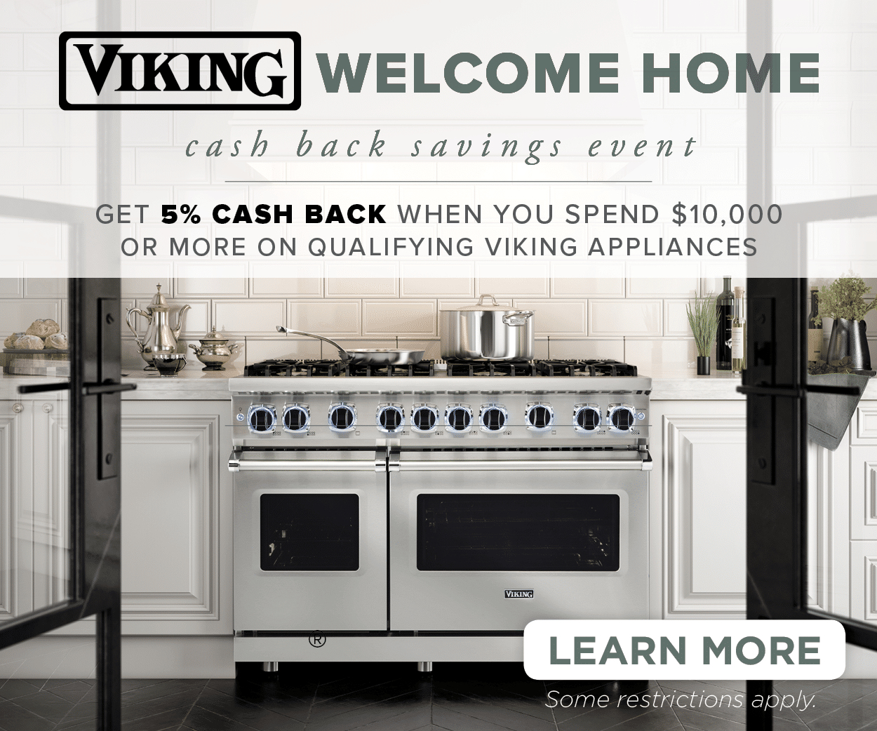 Come Home To A Viking Sales Event | Capital Distributing Dallas TX