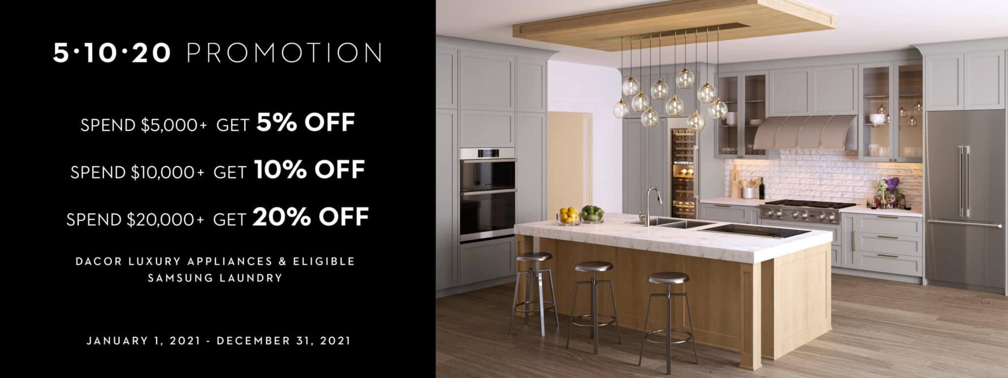 Dacor Appliance Promotion