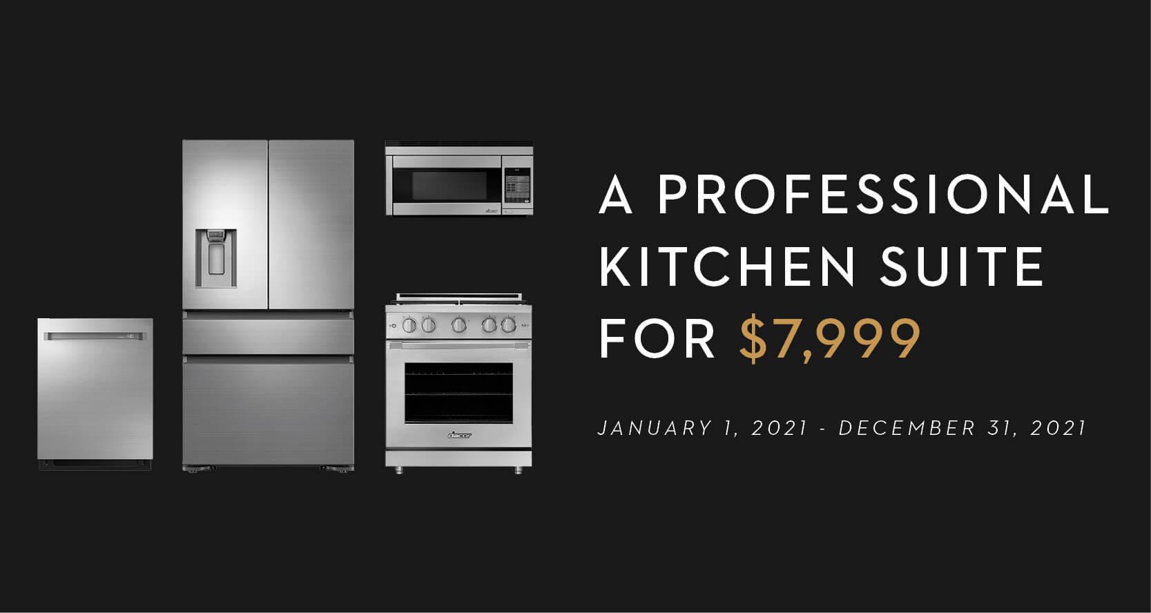 Dacor Professional Appliance Sale