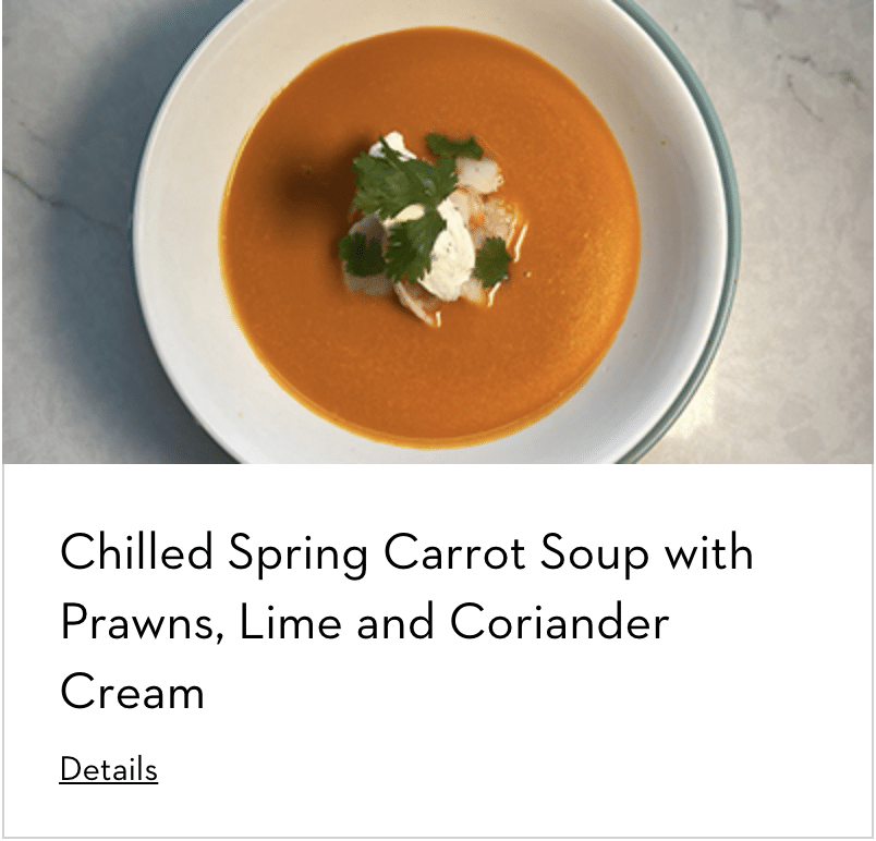Carrot Soup Prepared With Appliances by Dacor