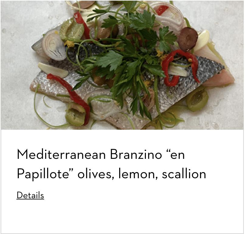 Mediterranean Branzino Prepared With Dacor Kitchen Appliances