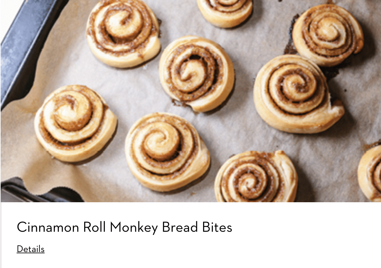 Cinnamon Rolls Made With Dacor Kitchen Appliances