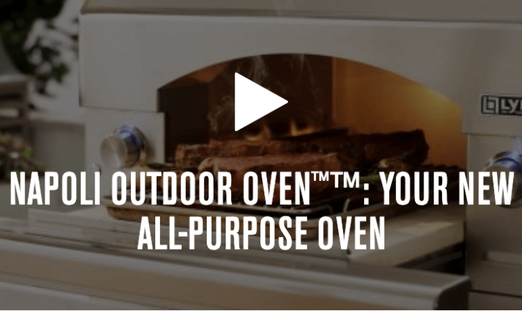Napoli Outdoor Oven by Lynx Grills
