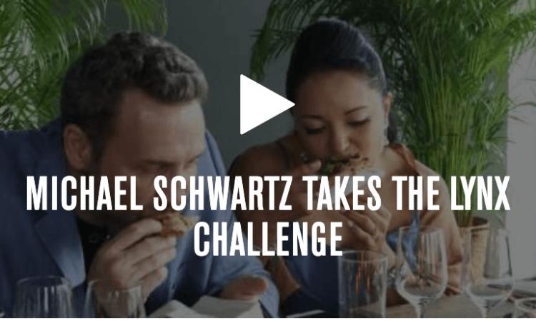 Michael Schwartz takes the Lynx Challenge