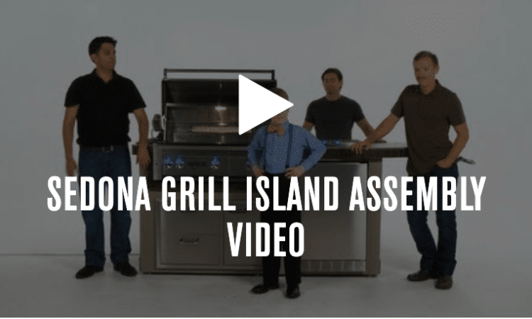 Learn how to install your Sedona Grill Island