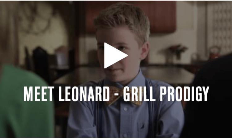 Leonard and his Lynx Grills